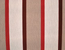 Beige-Red Stripes