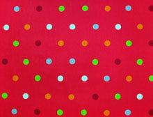 Colorful Dots Φούξια