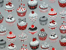 Cup Cake Grey