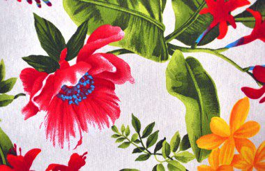 Jungle Flowers Red
