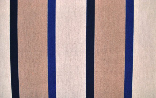 Beige-Blue Stripes