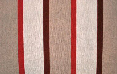 Beige-Red Stripes