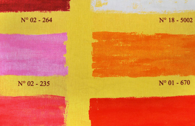 Panton 4348 002 Κίτρινο