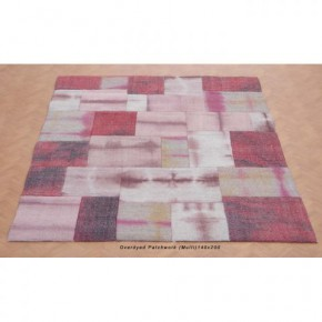 OVERDRYED PATCHWORK MULTI