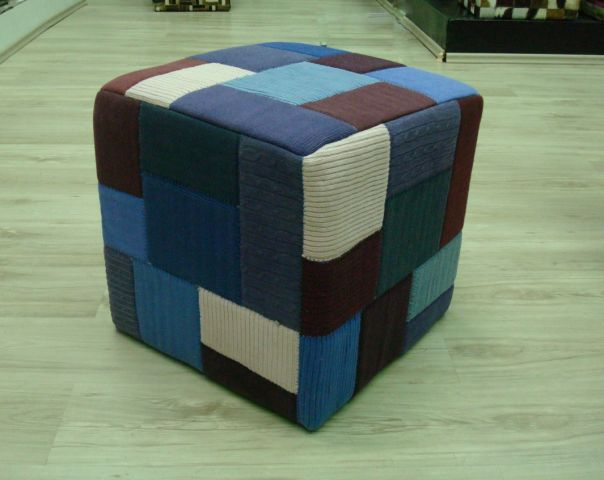 STOOL-050  PATCHWORK-15