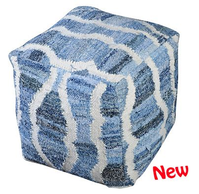 STOOL-233  WAVES POUF