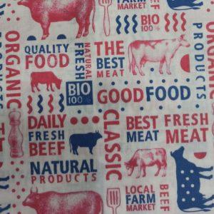 Typographic Beef Food 12.09.0209